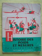 """L'ECOLE. """"LA RECREATION"""". HISTOIRE DES POIDS ET MESURES.  100_2978 - Unclassified"""