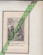 Petrus Amandus Baele, Baelegem , Overleden 1850 - Overlijden