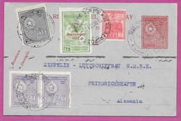 CONDOR ZEPPELIN LZ 127 1931 DEUTSCHE FLUGPOST Air Mail EP PARAGUAY & ARGENTINA Combi Franking GERMANY LUFTPOST Par Avion - Flugzeuge