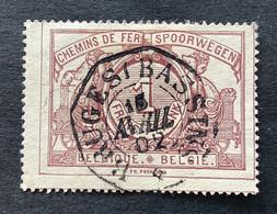 TR26 Gestempeld TELEGRAAFSTEMPEL BRUGES BASSINS - 1895-1913