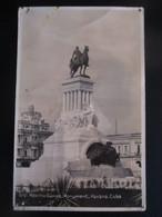 1938 CUBA HAVANA GENERAL MAXIMO GOMEZ MONUMENT - Other