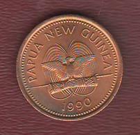 Papua Nuova Guinea 2 Toea New Guinea 1990 Bronze Coin - Papua New Guinea