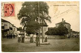 POMAREZ (Landes) - Place De La Liberté - Voir Scan - Altri Comuni