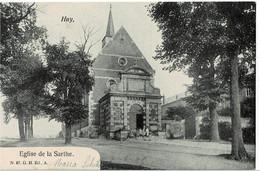 Huy Eglise De La Sarthe Circulée En 1905 - Huy