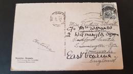 Bruxelles - Sent To Leamington Spa England - Gebruikt