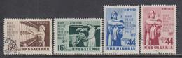 Bulgaria 1955 - Day Of The Woman, Mi-Nr. 944/47, Used - Gebraucht