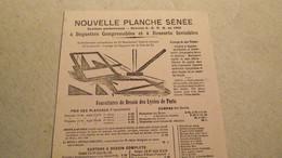 Buvard, 1902, Neuf , Nouvelles Planches SENEE, Dessin, Paris - Stationeries (flat Articles)