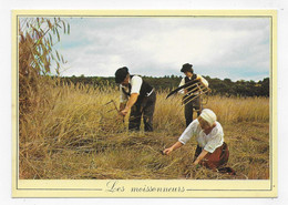LES METIERS D' ANTAN - N° 2 - LES MOISSONNEURS - CPSM GF NON VOYAGEE - 75 - Farmers