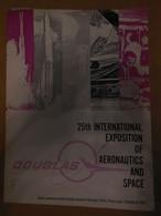 Dossier Douglas Aircraft Company Pour Le 25ème Salon Aéronautique De Paris En 1963 - Otros