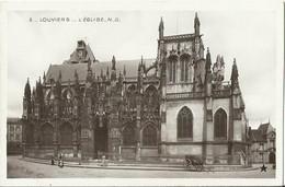 CPA De LOUVIERS - L'Eglise N.D. (Marque Etoile N°87). - Louviers