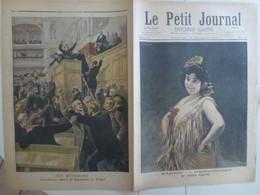 Journal Le Petit Journal 12 Décembre 1897 369 Sapho Emma Calvé Reichsrath Autriche Vienne - 1850 - 1899