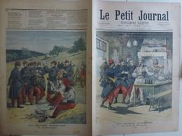 Journal Le Petit Journal 23 Septembre 1893 148 Grandes Manoeuvres Billet De Logement Vaguemestre Poste Postier - 1850 - 1899