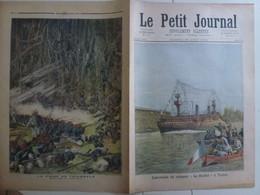 Journal Le Petit Journal 26 Août 1893 144 Croiseur Suchet Toulon Var Prise De Thialassé Afrique - 1850 - 1899