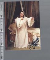Opera - Montserrat Caballé - GESIGNEERD / AUTOGRAPHE - Autographes