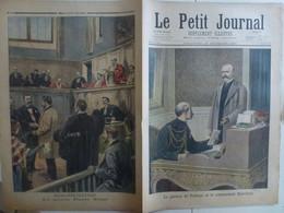 Journal Le Petit Journal 19 Décembre 1897 370 Général De Pellieux Commandant Esterhazy Procès Pierre Vaux Réhabilitation - 1850 - 1899