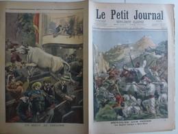 Journal Le Petit Journal 15 Août 1897 352 Révolte Aux Indes Mala-Khan Anglais Assiégés Bouef Au Théatre - 1850 - 1899