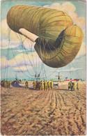 Armée Belge - Ballon Captif Sur Le Front - Equipment