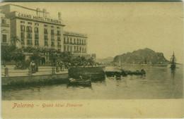 PALERMO - GRAND HOTEL TRINACRIA - 1910s  ( 7719) - Palermo