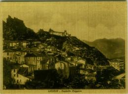 LAURIA ( POTENZA ) CASTELLO RUGGERO - EDIZIONE SARUBBI - SPEDITA 1938 ( 7725) - Potenza