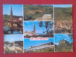 POSTAL POST CARD CARTE POSTALE FRANCIA FRANCE ST. SAINT AFFRIQUE DIVERSAS VISTAS VIEWS VUES...VER FOTO Y DESCRIPCIÓN.... - Saint Affrique