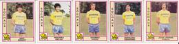 PANINI FOOTBALL 1980 LOT DE 5 IMAGES SOCHAUX - French Edition