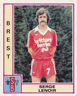 PANINI FOOTBALL 1980 BREST SERGE LENOIR - French Edition