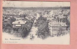 OUDE POSTKAART - ZWITSERLAND -  BERN - LANGGASSSTRASSE - TRAM - BE Berne
