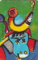 GERMANY(chip) - Painting/Otmar Alt, Chinese Horoscope/Buffalo(P 07), Chip Siemens 30, CN : 1404, 04/94, Mint - Zodiaco