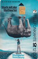 GERMANY(chip) - Elephant, Stuttgarter Versicherung(S 43), CN : 1203, 03/92, Mint - Non Classificati
