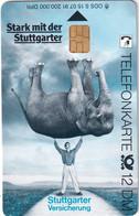 GERMANY(chip) - Elephant, Stuttgarter Versicherung(S 15), CN : 2107, 07/91, Mint - Non Classificati