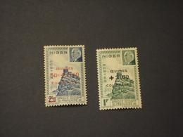 NIGER - 1944 PETAIN 2 VALORI - NUOVO(++) - Unused Stamps
