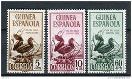 Guinea Española 1952. Edifil 318-20 ** MNH. - Guinea Espagnole