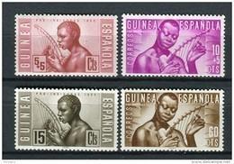 Guinea Española 1953. Edifil 321-24 ** MNH. - Guinea Espagnole