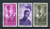 Guinea Española 1955. Edifil 344-46 ** MNH. - Guinea Espagnole