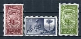 Guinea Española 1956. Edifil 362-64 ** MNH. - Guinea Espagnole
