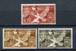 Guinea Española 1958. Edifil 373-75 ** MNH. - Guinea Espagnole