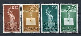 Guinea Española 1958. Edifil 384-87 ** MNH. - Guinea Espagnole