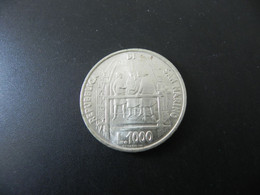 San Marino 1000 Lire 1977 Silver - San Marino