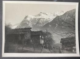 Hütten Evt Im Wallis/ Fotokarte - VS Valais
