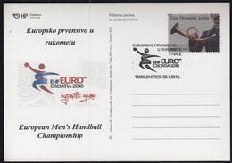 Croatia 2018 / European Men's Handball Champinship / EHF EURO CROATIA 2018 Hypnotic Game - Balonmano