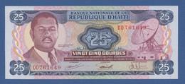 HAITI - P.218 – 25 Gourdes ND (1973) UNC Serie DD761649 - Haiti