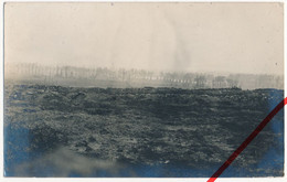 Original Foto - Höhe 60 Vor Ieper Ypern Ypres - 1916 - Vorderster Graben - Hintergrund: Ruine Der Kathedrale Von Ypern - Ieper