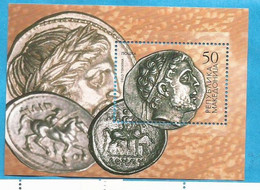 2002  BL. 9   MUENZEN   MAKEDONIJA  MACEDONIA MAKEDONIEN  ANTIKE MUENZEN  MNH - Mazedonien