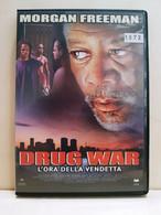 00318 DVD - DRUG WAR L'ora Della Vendetta - Morgan Freeman - 2003 - Actie, Avontuur