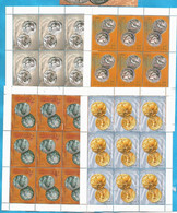 2002  245-48   MUENZEN   MAKEDONIJA  MACEDONIA MAKEDONIEN  ANTIKE MUENZEN  MNH - Mazedonien