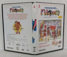 00361 DVD - C'era Una Volta L'uomo N. 3 - L'uomo Di Cro-Magnon - De Agostini - Documentaire