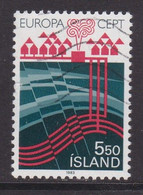 ISLANDIA - Sello Matasellado 1983 - Gebruikt