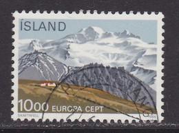 ISLANDIA - Sello Matasellado 1986 - Gebruikt