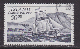 ISLANDIA - Sello Matasellado 1987 - Gebruikt