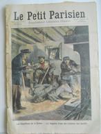 Le Petit Parisien N°1033 – 22 Novembre 1908 – Chauffeurs De La Drôme - Hôtes De La France : Le Roi Et La Reine De Suede - Le Petit Parisien